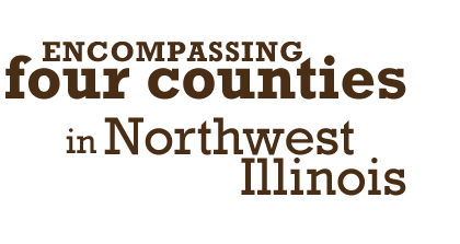 Encompassing four counties in Northwest Illinois