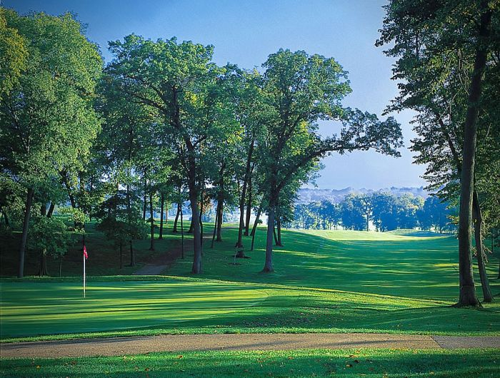 PrairieView Golf Club - Hole #6|