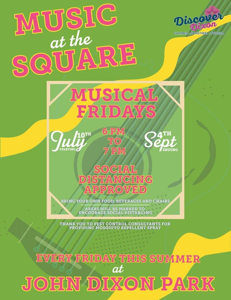 Music on the Square in Dixon