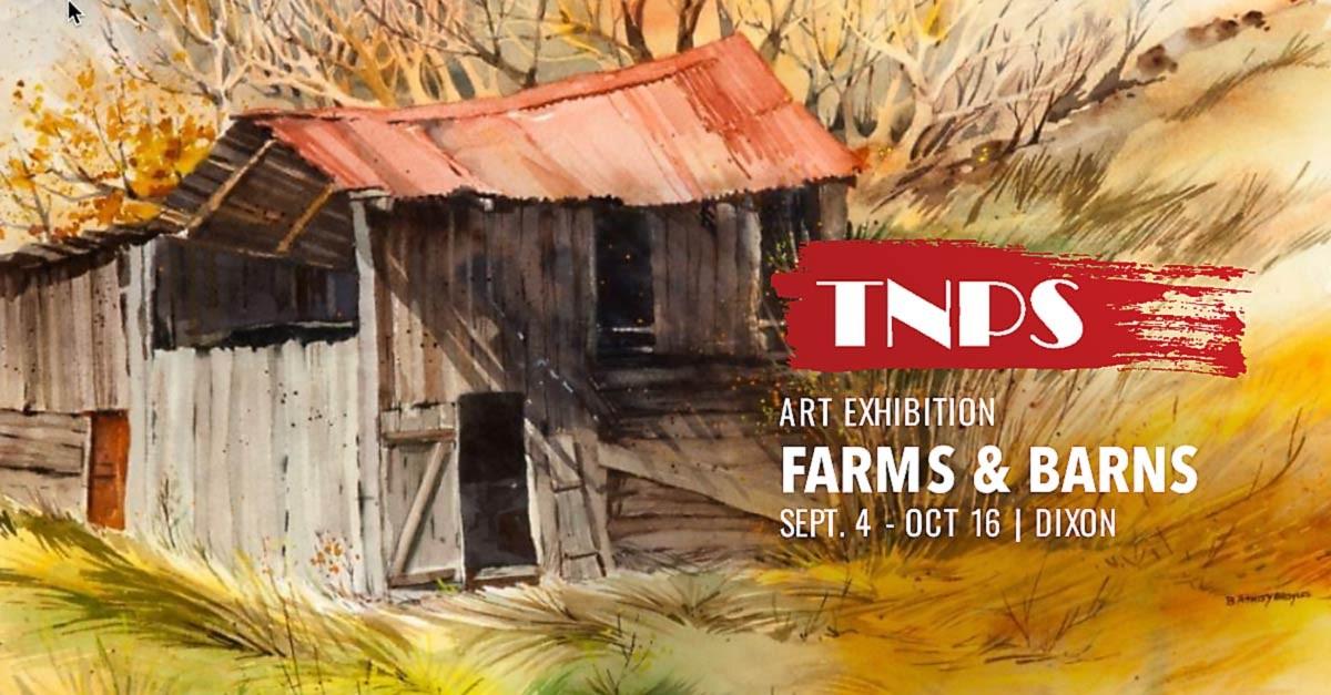 ART EXHIBIT: Farms & Barns