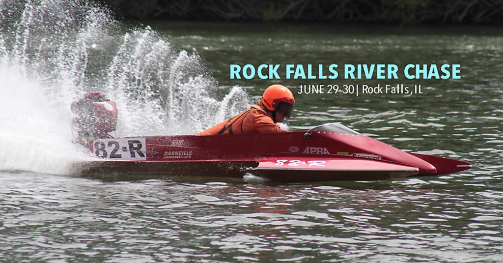 Rock Falls River Chase