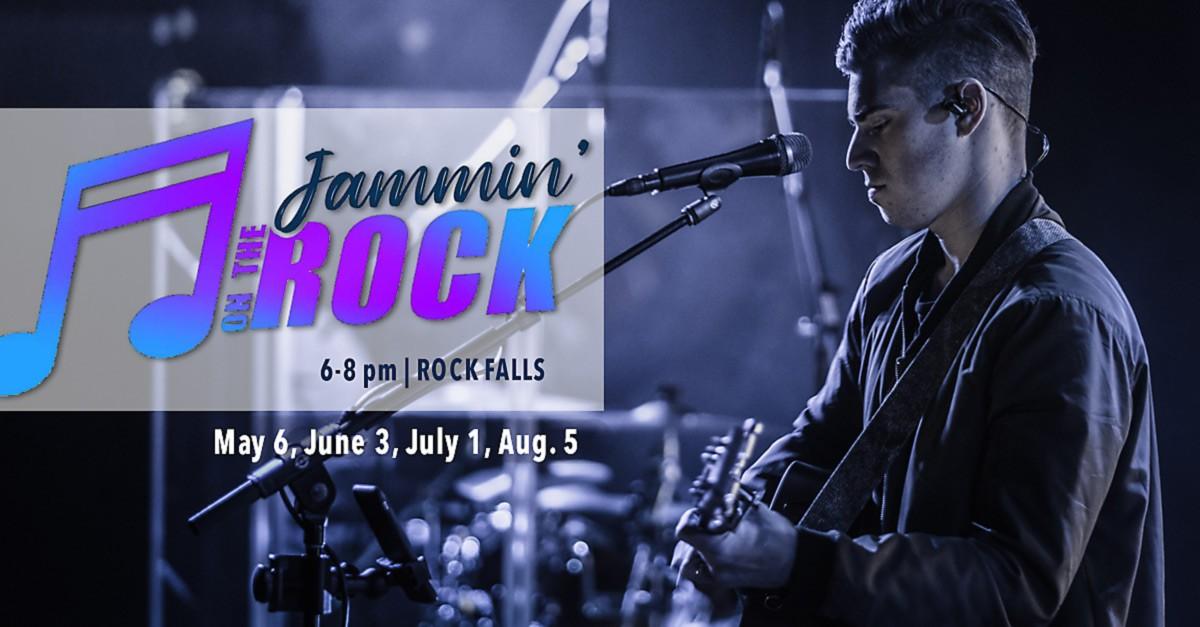 JAMMIN' on The Rock