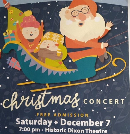 Dixon Municipal Band Christmas Concert