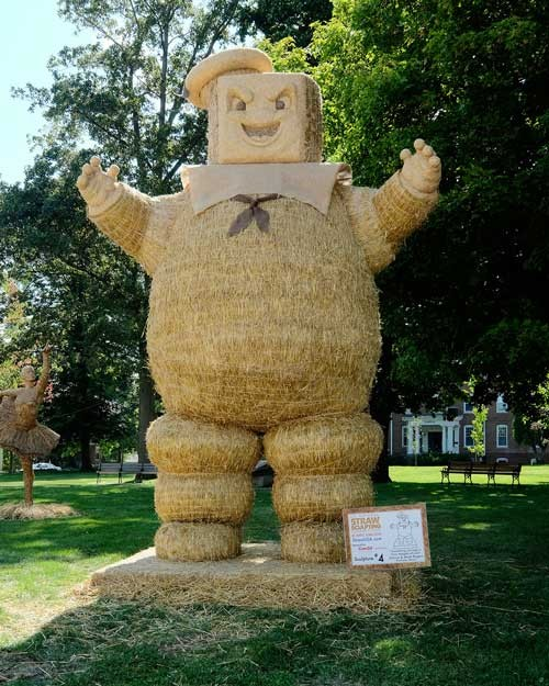 Straw Sculpting Competition