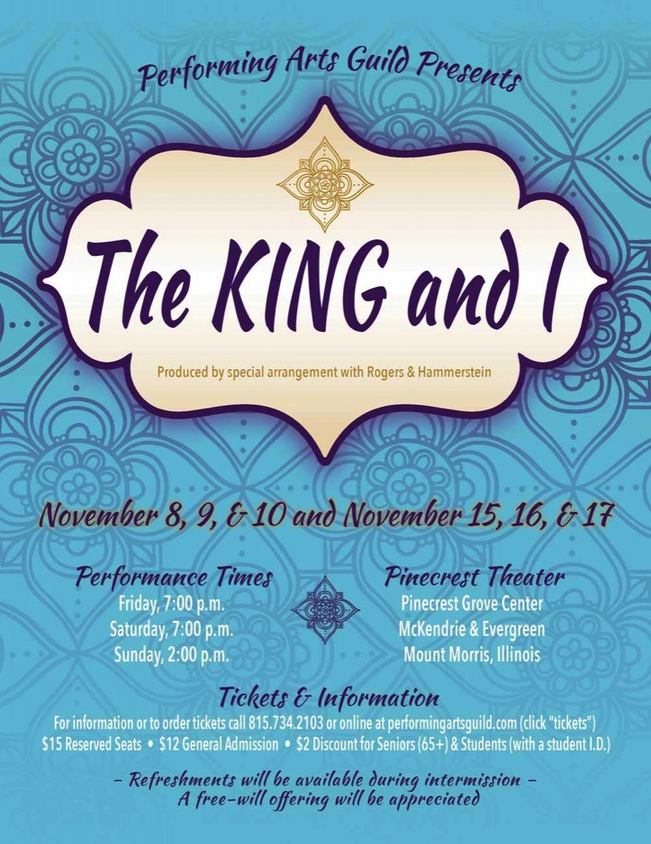 The King & I at Pinecrest Grove Theatre