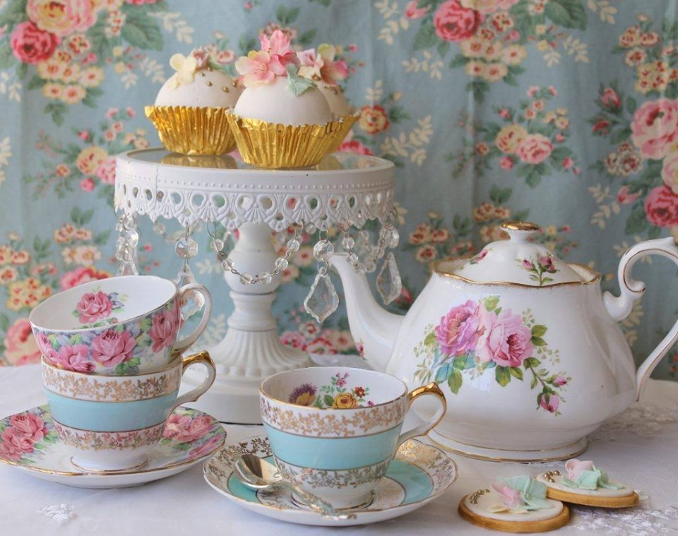 Tea Party at the Mt Carroll Library