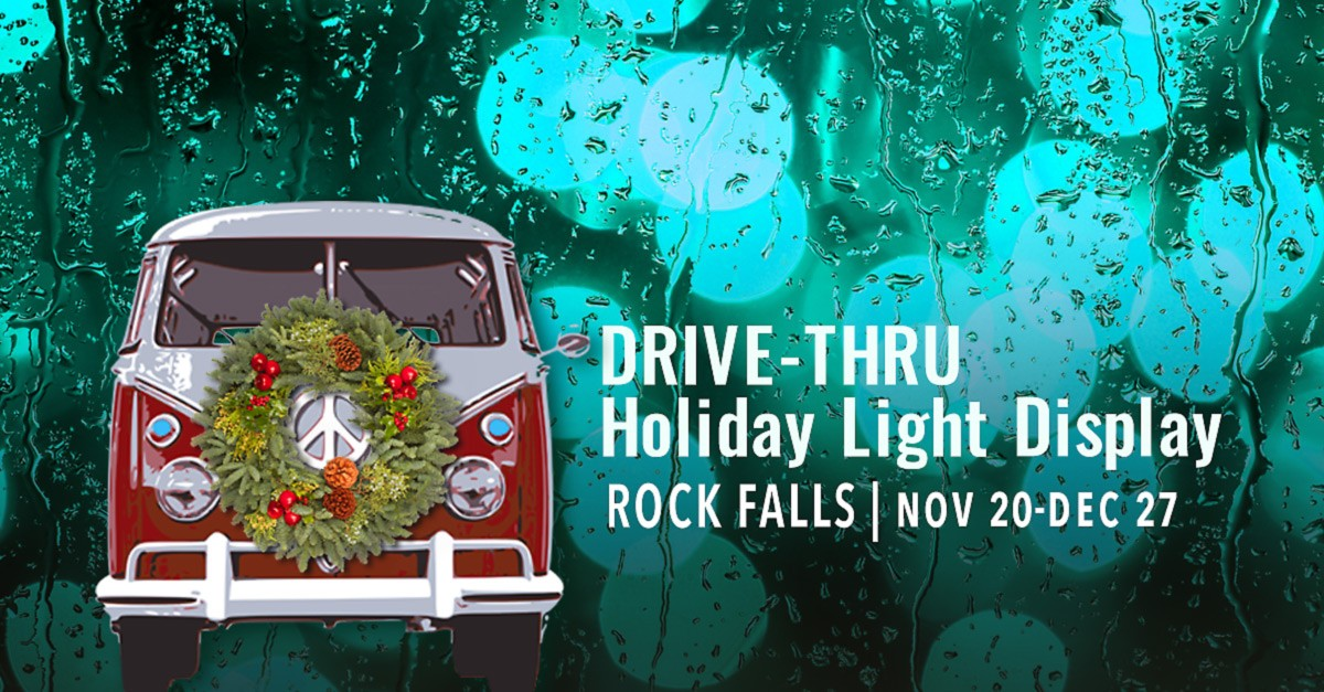 Drive-Thru Holiday Light Display | Rock Falls