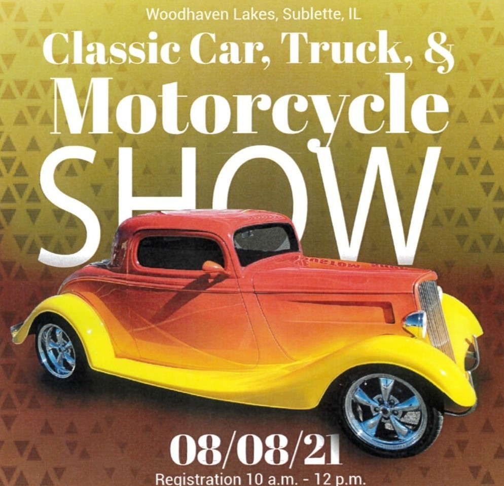 Woodhaven Lakes Classic Car, Truck & Motorcycle Show