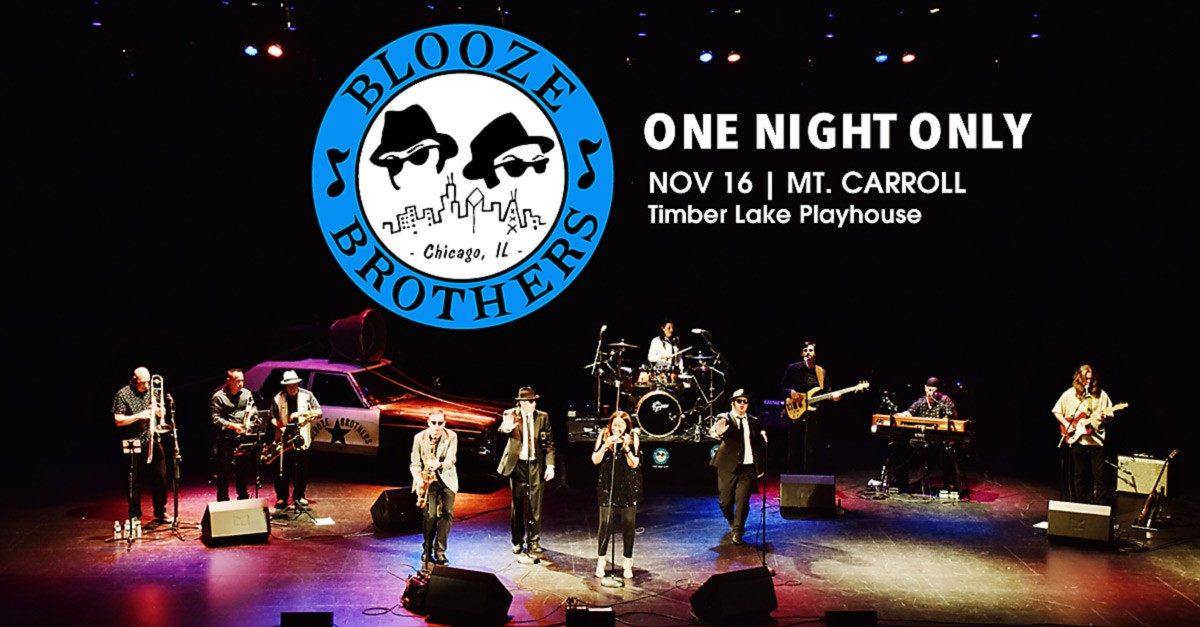 Blooze Brothers at Timber Lake Playhouse