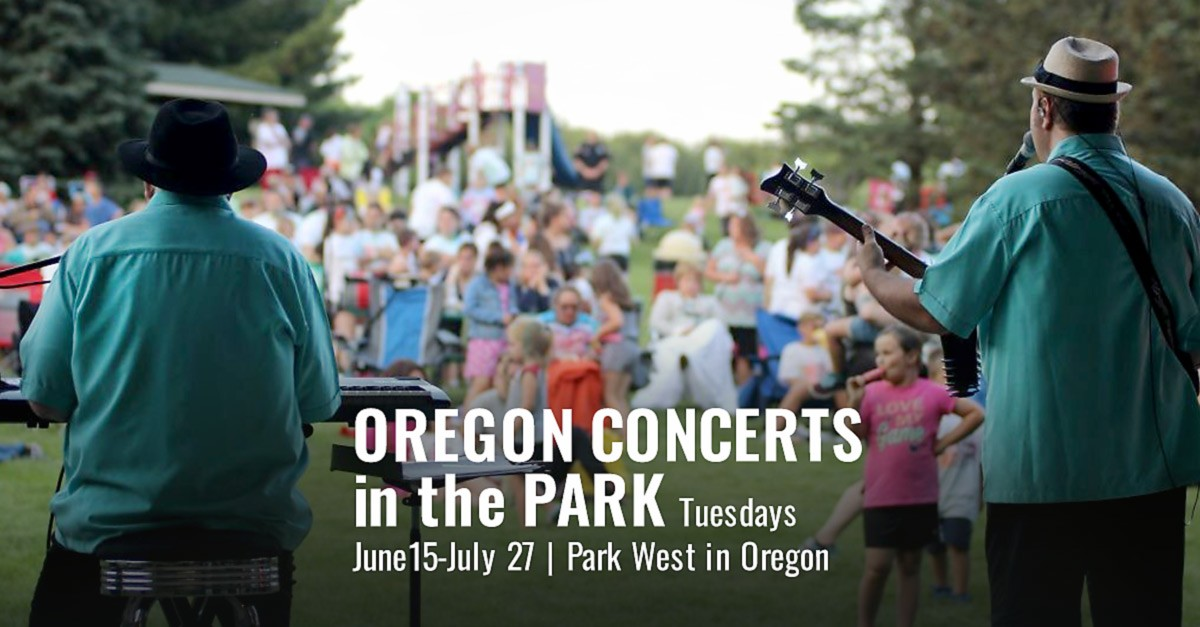 LIVE MUSIC: Oregon Concerts in the Park