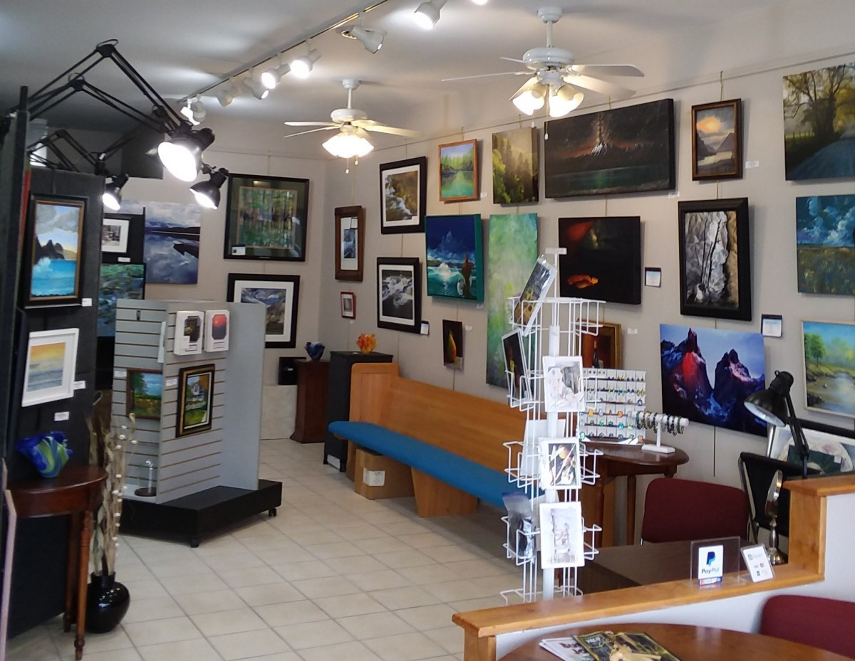 Grand Reopening of The Corner Gallery