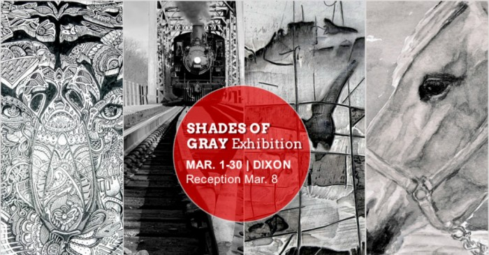 ART EXHIBIT: Shades of Gray | Opening Night