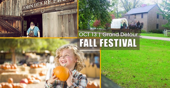 Fall Fest at John Deere Historic Site
