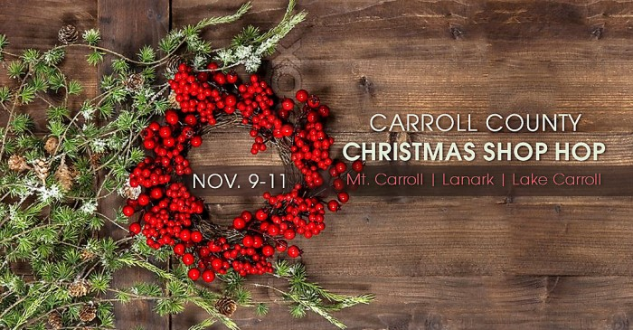 Carroll County Christmas Shop Hop