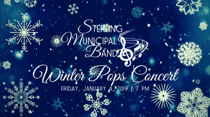Sterling Municipal Band Annual Winter Pops Concert