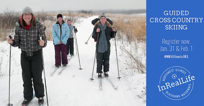 Guided Cross Country ski outing | Byron Forest Preserve