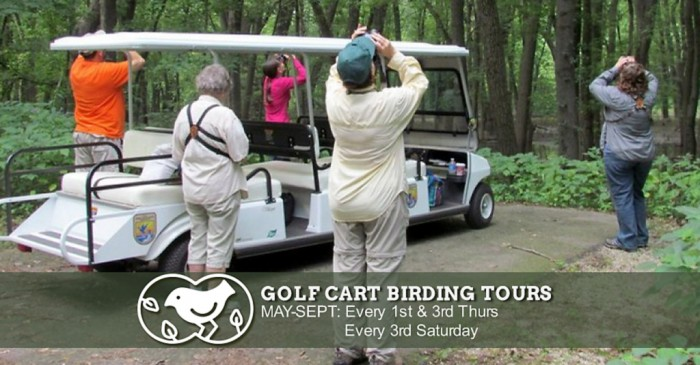 Golf Cart Birding Tours