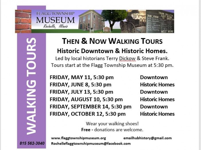 Then & Now Historic Walking Tours