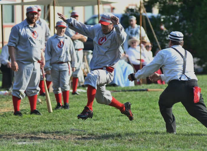 Oregon Ganymedes Vintage Baseball Game
