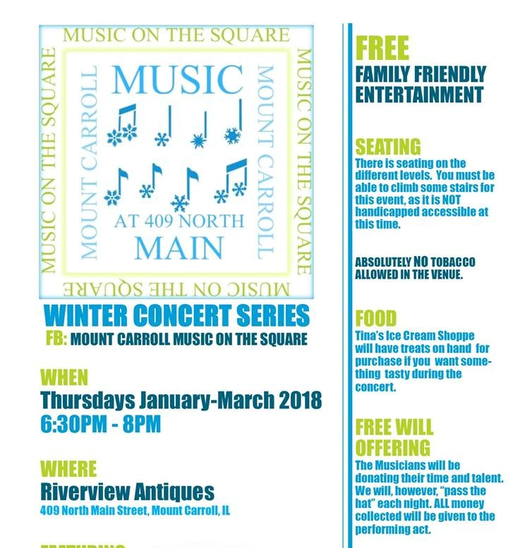 Mt C music on Square Winter 3.15.18