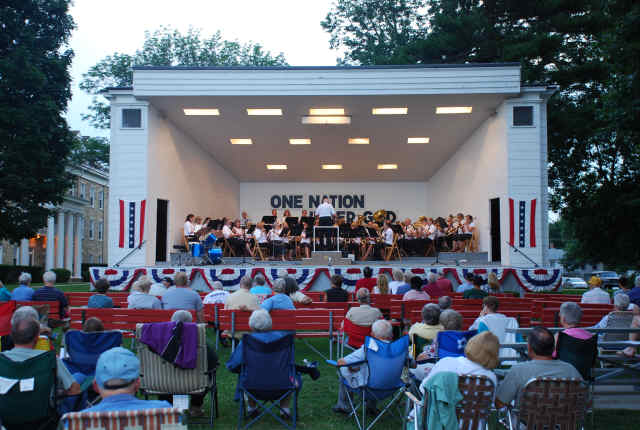 Mt Morris Band shell