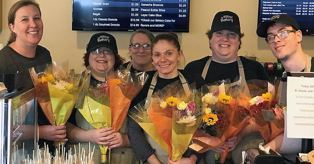 village bakery staff