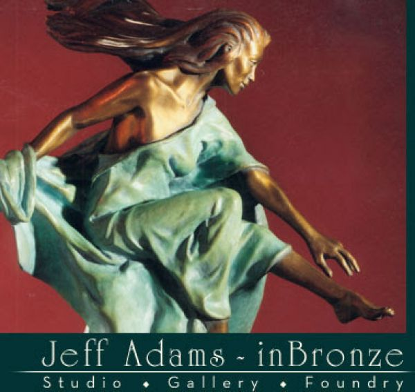 Jeff Adams inBronze Studio-Gallery-Foundry