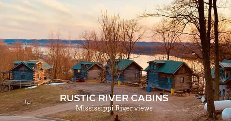 A view from above | Rustic River Cabins