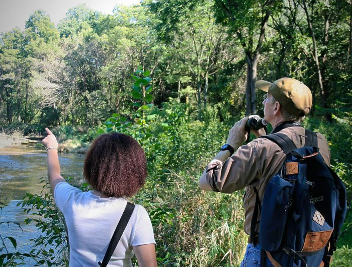 Birdwatching at the Franklin Creek State Natural Area