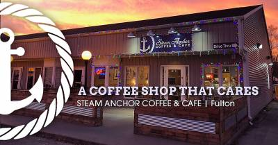 When Life happens, Steam Anchor Coffee gets you by.