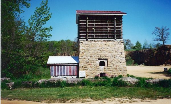Buffalo Grove Lime Kiln,Polo IL