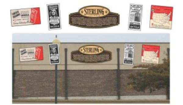 Sterling Lincoln Highway Interpretive Mural