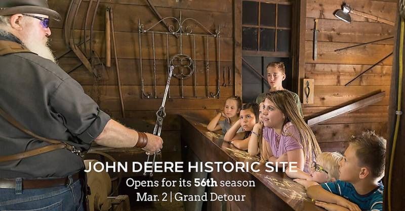 John Deere Historic Site opens for the 56th season on Mar. 2