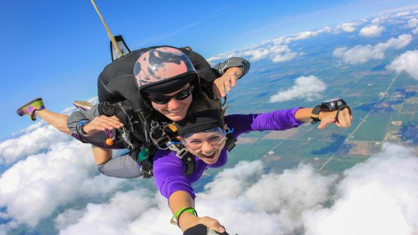 Chicagoland Skydiving Center in Rochelle