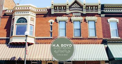 Small Town, Big Heart | The H.A. Boyd Guest Room