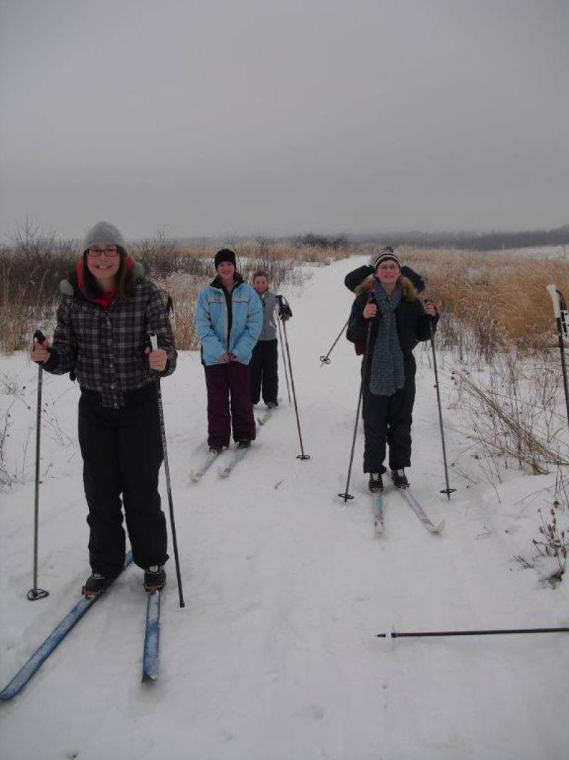 Byron Forest Preserve Cross Country Skiing