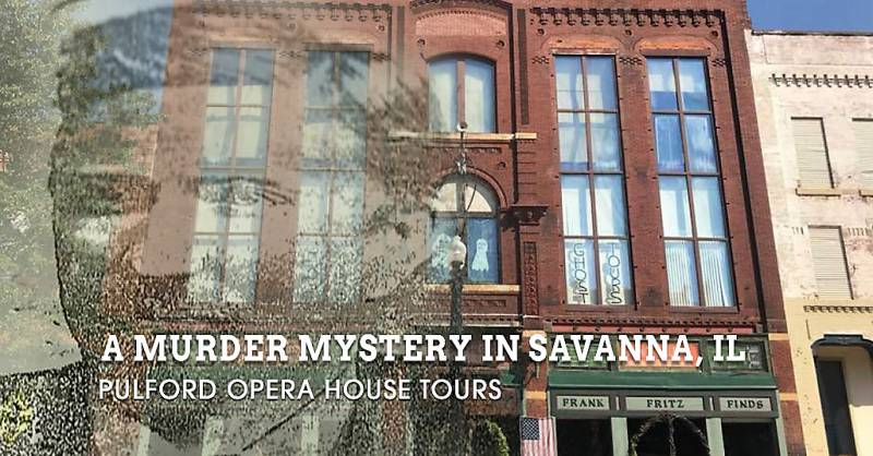 It's a murder mystery that shocked the small town of Savanna, Illinois more than 100 years ago.