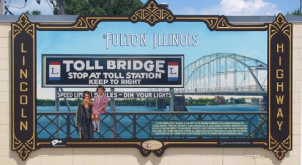 Fulton Lincoln Highway Interpretive Mural